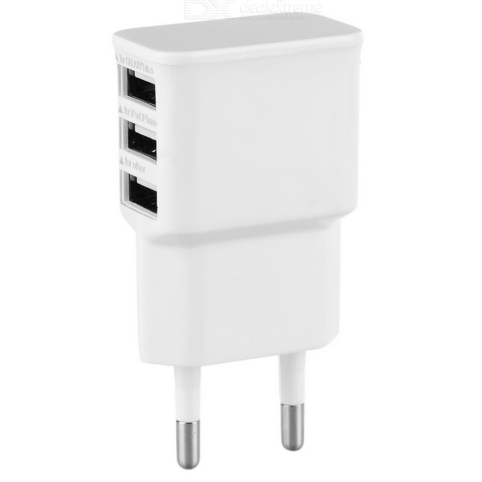 A3303 3 USB PORT 3.4A AUTO-ID TRAVEL CHARGER